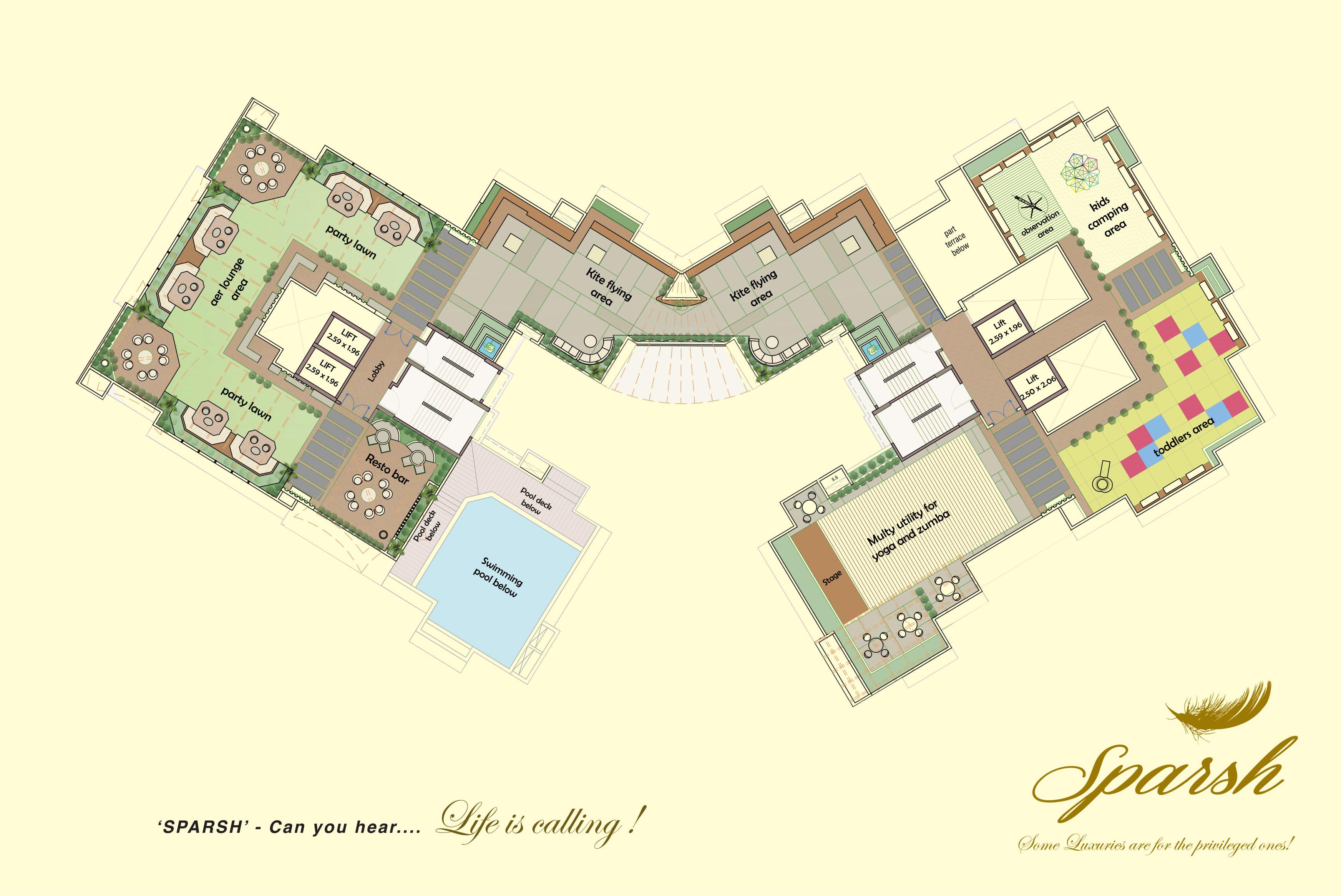 Sparsh floor plan